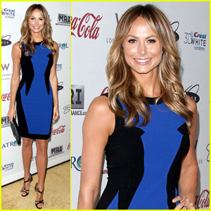 Stacy Keibler: Gold Meets Golden Co-Host!