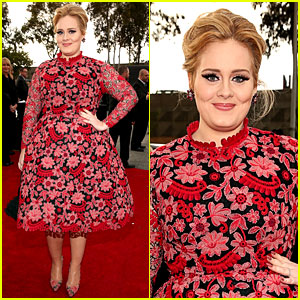 Adele - Grammys 2013 Red Carpet
