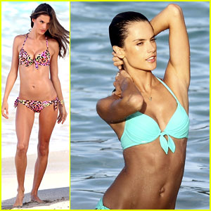 Alessandra Ambrosio in Bikini Photo Shoot - Hot Pics!