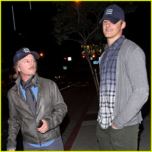 Alexander Ludwig: Boa Dinner with David Spade!