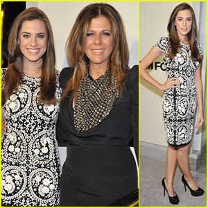 0fbd4d177ce1f Allison Williams   Rita Wilson  Tom Ford Cocktail Party