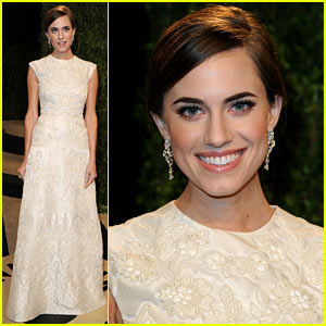 Allison Williams - Vanity Fair Oscars Party 2013
