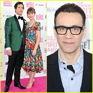 Andy Samberg & Fred Armisen - Independent Spirit Awards 2013