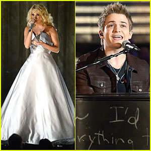 Carrie Underwood & Hunter Hayes: Grammys 2013 Performance - WATCH NOW!