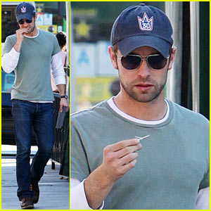 Chace Crawford Would Love the Challenge of Playing Christian Grey