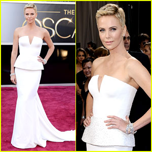 Charlize Theron - Oscars 2013 Red Carpet