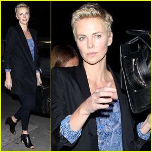Charlize Theron Partners with Toms Shoes to Prevent AIDS