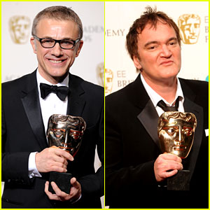 Christoph Waltz Wins Best Supporting Actor at BAFTAs 2013!