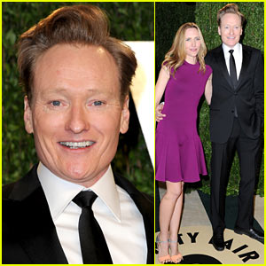Conan O'Brien - Vanity Fair Oscars Party 2013