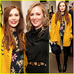 Elizabeth Olsen: Cher Coulter for AG Capsule Collection Event