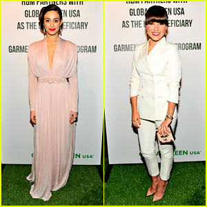 Emmy Rossum & Sophia Bush: Global Green Pre-Oscars Party