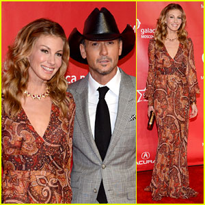 Faith Hill & Tim McGraw: Grammy's MusiCares Event 2013