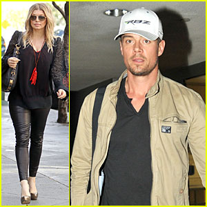 Fergie: Josh Duhamel's Excited for 'Scenic Route' SXSW Debut!