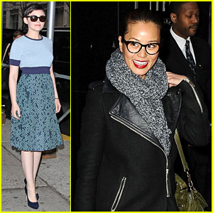 Ginnifer Goodwin Tapes 'Rachael Ray', Jamie Chung Meets Fans