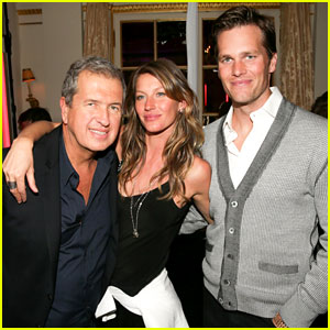 Gisele Bundchen & Tom Brady: Mario Testino Exhibit Party!