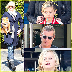 Gwen Stefani & Gavin Rossdale: Indio Road Trip with the Boys!