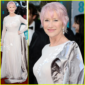 Helen Mirren: Pink Hair at BAFTAs 2013!