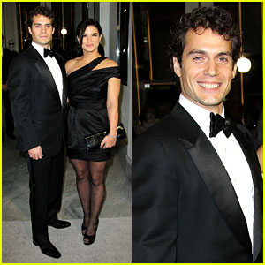 Henry Cavill & Gina Carano: Tom Ford Cocktail Party