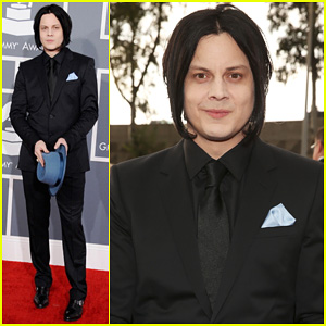 Jack White - Grammys 2013 Red Carpet