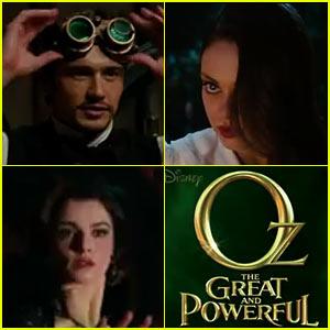 James Franco & Mila Kunis: 'Oz: Great & Powerful' Super Bowl Teaser!