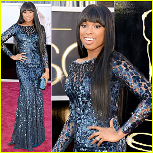 Jennifer Hudson - Oscars 2013 Red Carpet
