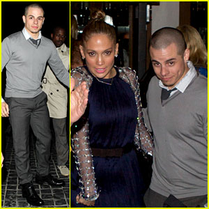 Jennifer Lopez & Casper Smart: Cecconi's Couple!