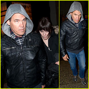 Josh Brolin: Post-Split Broadway Matinee with Eden!