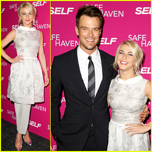 Josh Duhamel & Julianne Hough: 'Safe Haven' NY Screening!