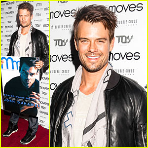 Josh Duhamel: 'Moves' Magazine Cover Party!