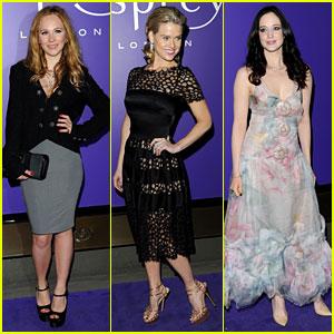 Juno Temple & Alice Eve: BAFTAs Nominees Party 2013!