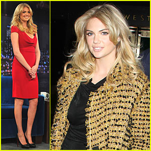 Kate Upton: Red Hot 'Fallon' Appearance!
