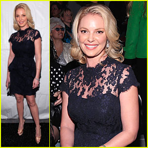 Katherine Heigl: Reem Acra Fashion Show!