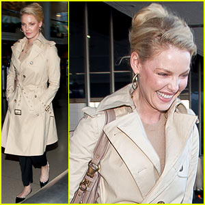 Katherine Heigl: 'Great Time' at New York Fashion Week!