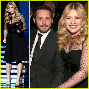 Kelly Clarkson: Grammys 2013 with Brandon Blackstock!