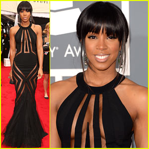 Kelly Rowland - Grammys 2013 Red Carpet