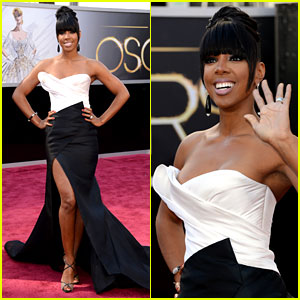 Kelly Rowland - Oscars 2013 Red Carpet