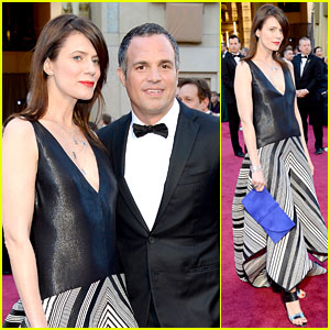 Mark Ruffalo - Oscars 2013 Red Carpet with Sunrise Coigney