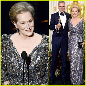 Meryl Streep: Oscars 2013 Best Actor Presenter