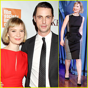 Mia Wasikowska & Matthew Goode: 'Stoker' New York Screening!