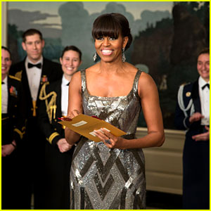 Michelle Obama - Oscars 2013 Surprise Pres