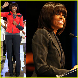 Michelle Obama: School Exercise Program with Jordin Sparks!