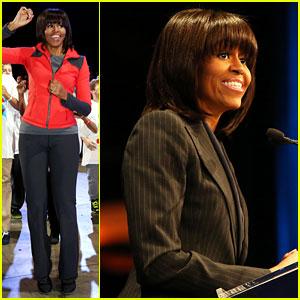 Michelle Obama: School Exercise Program with Jordin Sparks!