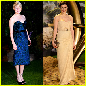 Michelle Williams & Rachel Weisz: 'Oz the Great & Powerful' UK Premiere!