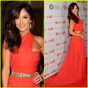 York Dress on Minka Kelly  Heart Truth Red Dress Fashion Show 2013    2013 New York