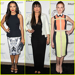 Naya Rivera &#038; Jenna Ushkowitz: Inaugural PaleyFest Icon Award with 'Glee'!