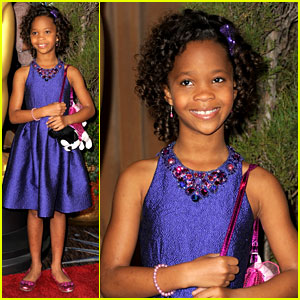 Quvenzhane Wallis - Oscar Nominees Luncheon 2013