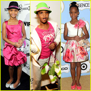 Quvenzhane Wallis: Puppy Purse at Pre-Oscars 2013 Events!