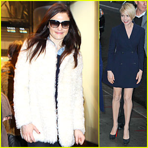 Rachel Weisz & Michelle Williams: 'Oz' World Promotion!
