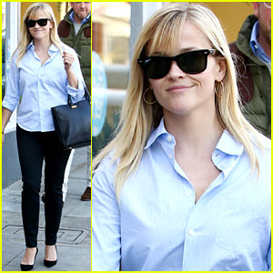 Reese Witherspoon: Post-Lunch Shopping Trip!