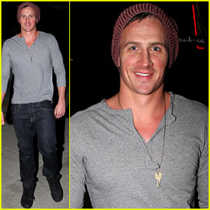 Ryan Lochte: Sambuca Nashville Dinner with Friends!
